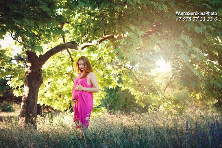 Фотограф беременности Анна Сорокина
