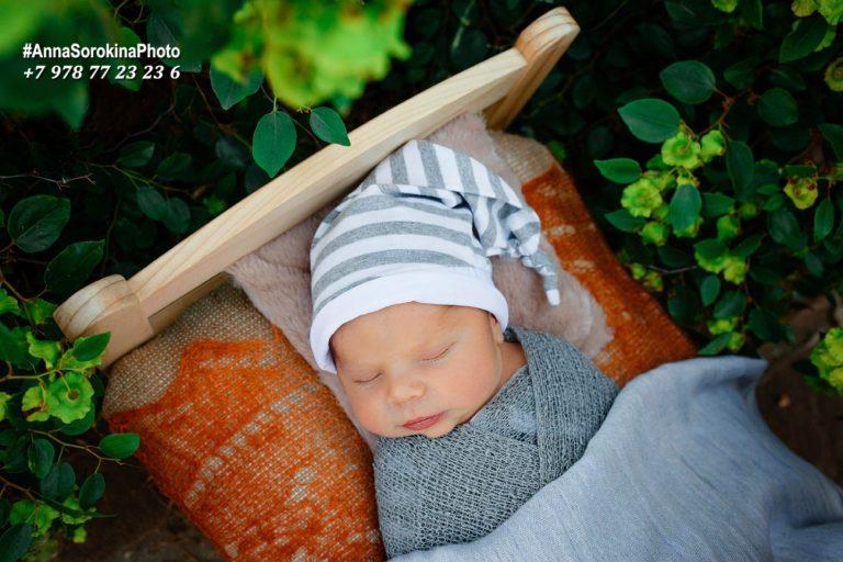 Фотограф новорожденных Севастополь, Анна Сорокина